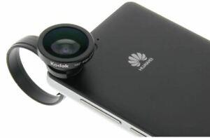 Kodak 3 in 1 Wide Angle Macro Fish Eye camera Lens Kit Phone iPhone Samsung HTC