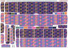 Aviattic Decals 1/32 OAW FOKKER D-VII 5-COLOR LOZENGE w/LILAC TAPES FACTORY NEW