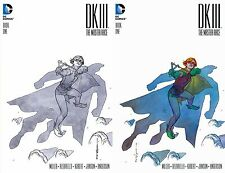 DKIII Batman Dark Knight 3 #1 HEROES - STELFREEZE Sketch B&W & Color Variant SET