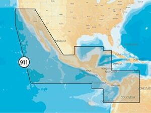 Navionics MSD/911P-2 Platinum+ Sd 911 Mexico/central America (msd/911p2)