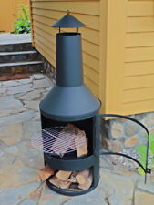 Garten-Kamin Terassen-Grill Terassenofen Gartenofen Kaminofen Feuerstelle Ofen