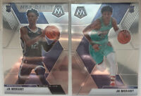 2019-20 Mosaic Ja Morant Rookie Prizm Base & NBA Debut Lot (2) RC #219 Grizzlies