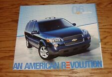 Original 2006 Chevrolet Uplander Deluxe Sales Brochure 06 Chevy