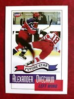 8) ALEXANDER OVECHKIN Russia Dynamo 2005 OMR Future Star Hockey Rookie RC LOT