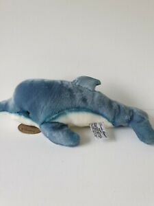 Yomico Classics Dolphin Russ Berrie Approx 37cm Long Soft Toy Plush Toy