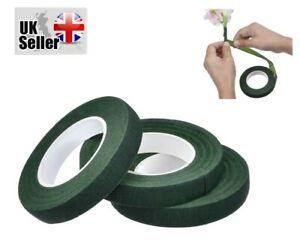 3PCS Floral Tapes Self-Adhesive Wraps Florist Stem Wrap Garland Tape Flower Wrap