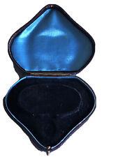 Antique Victorian Leather Jewelry Box For Bracelet, Circa 1900