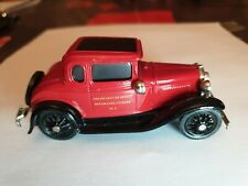 BROOKLIN MODELS 5 FORD A FIRE NEW ORLEANS 1930  RARE !.