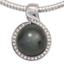 Runde Echtschmuck-Halsketten & -Anhänger mit gemischten Themen-Perlen-Thema
