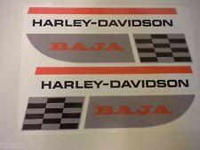 Harley-Davidson Aermacchi 1970 & 1971 Baja Decal Set