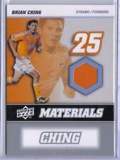 Brian Ching 2008 08 Upper Deck UD MLS Materials Game Used Jersey #MM-1 Dynamo
