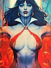 Vampirella 2 Judge Evil By Stanley Artgerm Lau 18x24 Giclee Print Hand Signed
