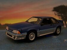 FOX BODY 1988 88 FORD MUSTANG GT 5.0 COLLECTIBLE REPLICA - 1/64 DIORAMA MODEL