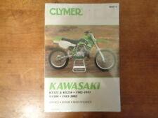 Clymer Kawasaki KX125 KX250 82-91 KX500 83-02 Service-Repair-Maint Manual M447-2