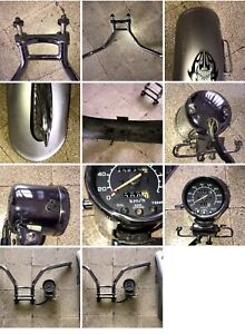 Contachilometri manubrio e parafango ant. Con fregio moto VT 600 Honda Shadow