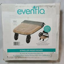 Evenflo Stroller Stand and Ride Rider Board Attachment Only, Wood (Open Box)