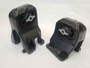 Front RH LH Engine Mount Set 2pcs For Dodge Ram1500 4.7L 52020603AC 52020602AD