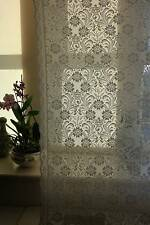 Laura Ashley Cream Cotton Lace Curtain c1900s period design Yardage sold metre