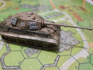 German Tiger2 tank for Flames of War, 1/100, 15mm scale