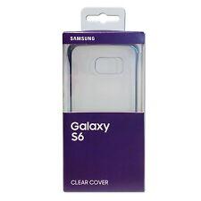 Samsung Clear Cover Slimline Clip-On Hülle EF-QG920BBEGWW for Galaxy S6