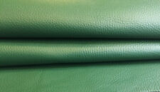 Green Leather Hides Genuine Lambskin Upholstery Material Craft Sheepskins FS691