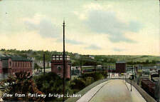 Luton. View from Railway Bridge by T. Marston.