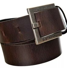 "Ceinture G STAR RAW ""DUKO BELT"" cuir  taille/size:75 Color: DK BROWN"