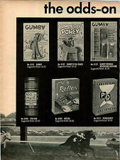 1966 ADVERT 4 PG Toy Gumby Pokey Francie Barbie James Bond 007 Lakeside Toys