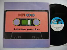 "HOT COLD I Can Hear Your Voice 12"" maxi 1986 Germany EX  italo"