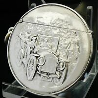 Silver Vesta Case, Birmingham 1907, James Fenton