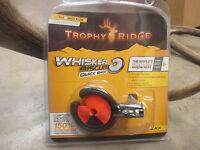 New Trophy Ridge Whisker Biscuit Quick Shot Rest Universal RH/LH MEDIUM ORANGE