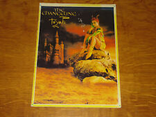 TOYAH - THE CHANGELING - OFFICIAL TOUR PROGRAMME             (PROMO)