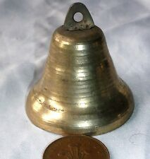 A Brass Plated Iron Goat / Dog Bell - Good Loudly Ring - New - B2