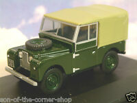 Oxford Diecast 1/43 Land Rover Serie 1 i 224cm Lona Top Bronce Verde Lan188009