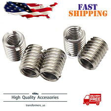 5 X Thread Adapters M8 8mm Male To M6 6mm Female Threaded Reducers High Quality