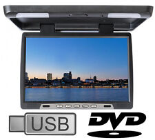 15 pollici monitor a soffitto con DVD USB SD CARD IR e FM Transmitter Monitor