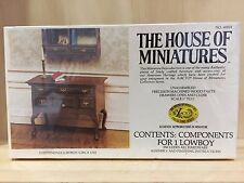 The House Of Miniatures Doll House Furniture Kit 40024 Chippendale Lowboy Table