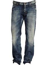 PRPS Barracuda Straight Leg Jeans Blue Shangri La Distressed E61P86X NEW W 30 32