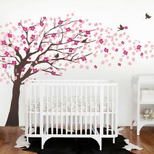 Cherry Blossom Tree Decal - Elegant Style - scheme B