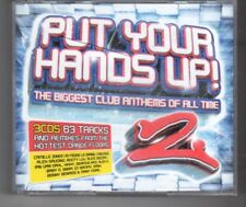 (HN266) Put Your Hands Up! 2, Biggest Club Anthems - 2007 triple CD