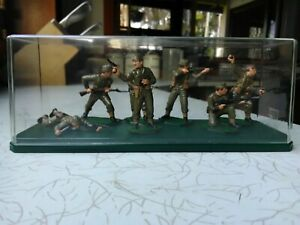 Soldier Figures,British Commandos,By Airfix,1:32 Scale