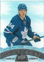 2017-18 Upper Deck Tim Hortons CLEAR CUT PHENOMS Auston Matthews CCP-14