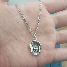 baseball glove silver Necklace pendants fashion accessory,creative Gifts