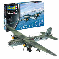 REVELL Heinkel He177 A-5 Greif 1:72 Aircraft Model Kit 03913