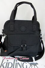 Black Pahneiro Kipling Handbag Hb6297 001 Adjustable Strap Purse