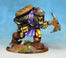 Orc with Large Axe and shield a Warhammer Fantasy Armies 28mm Unpainted Wargames