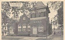 B74/ Caldwell Ohio Postcard Noble County c1940s M.E. Church Building 4