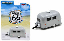 GREENLIGHT 1:64 ROUTE 66 AIRSTREAM 16' BAMBI SPORT DIECAST Silver 50849 NEW