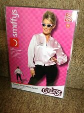GREASE PINK LADIES JACKET SIZE MEDIUM - FANCY DRESS COSTUME