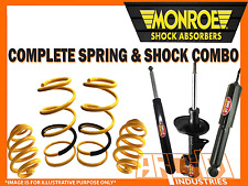 FORD FALCON BA BF XR6 REAR STANDARD HEIGHT COIL SPRINGS